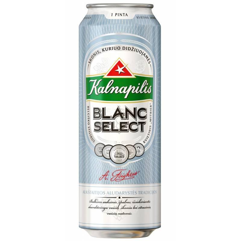 Kalnapilis Blanc Select - 0,568 л ж/б