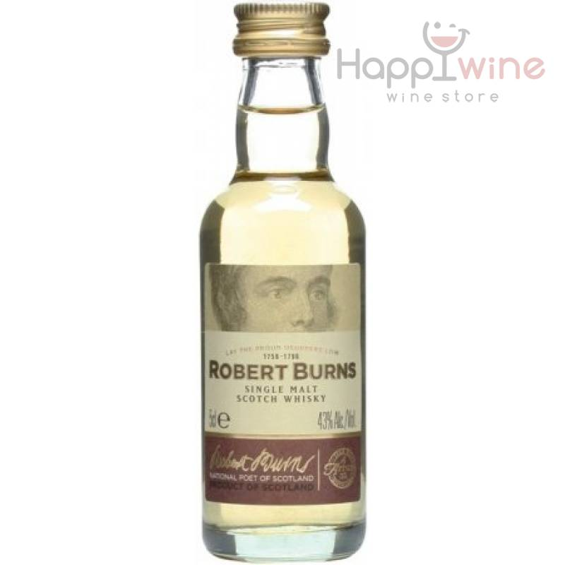 """Robert Burns"" - 0,05 л Isle of Arran Distillery - АРХИВ!!!"