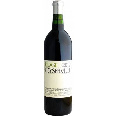 Ridge Vineyards Geyserville, 2012 (0,75 л)