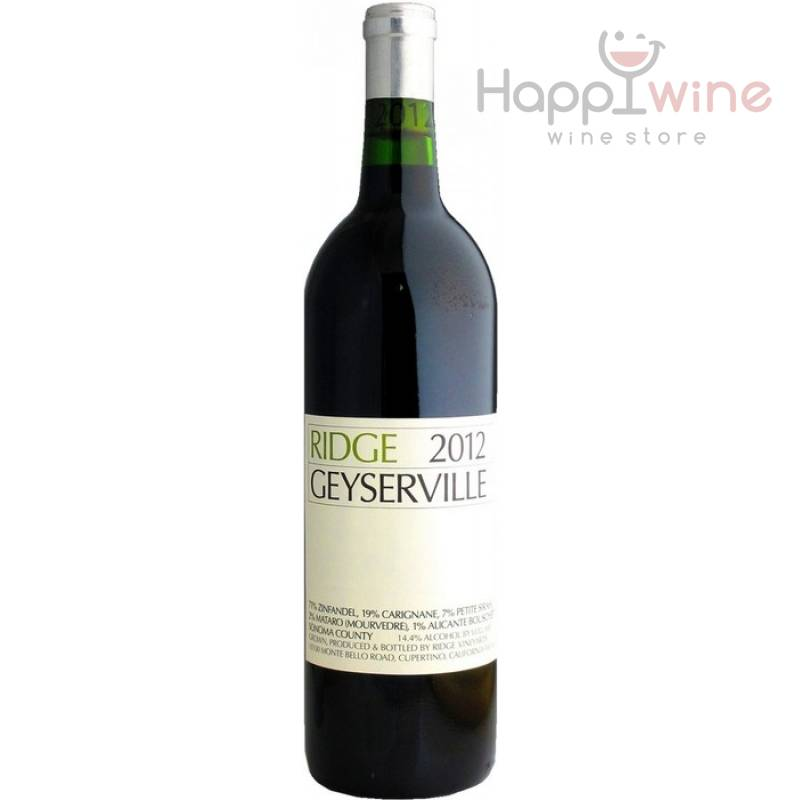 Ridge Vineyards Geyserville, 2012 (0,75 л)
