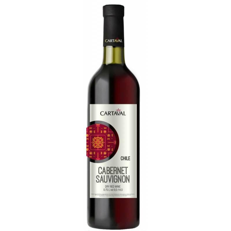 Cartaval Cabernet Sauvignon - 0,75 л ЧАО Коблево - АРХИВ!!!
