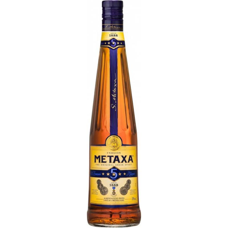 Metaxa 5* ( 0,5л ) Rémy Cointreau Group