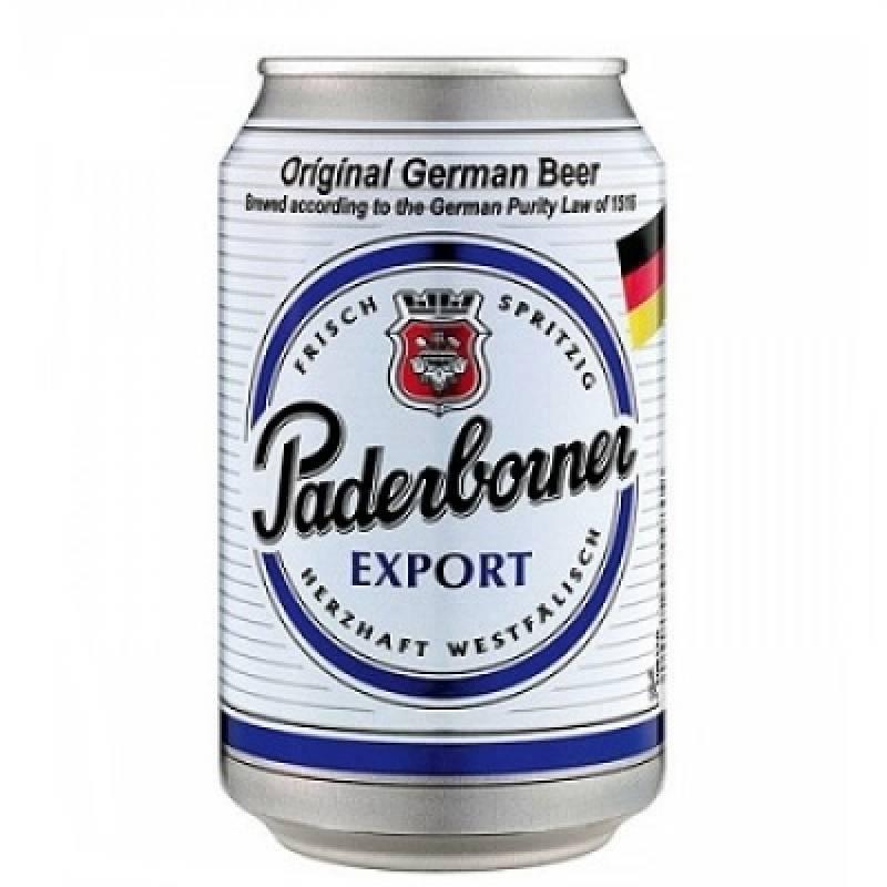 Paderborner Export ж/б ( 0,33л ) Warsteiner Gruppe