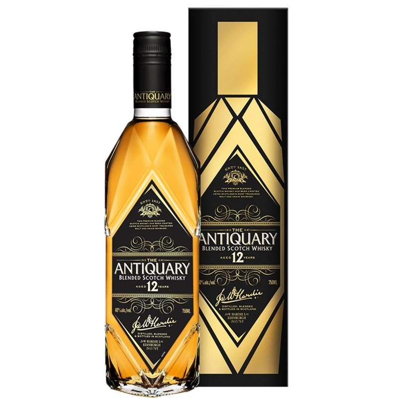 Antiquary 12л в кор. - 0.7 л  Tomatin Distillery - АРХИВ!!!
