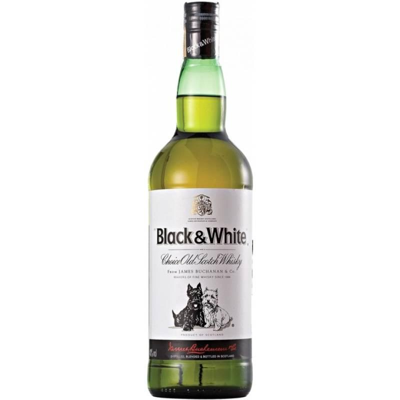 Black & White 6 лет - 1,0 л  Diageo (Диаджео) - АРХИВ!!!