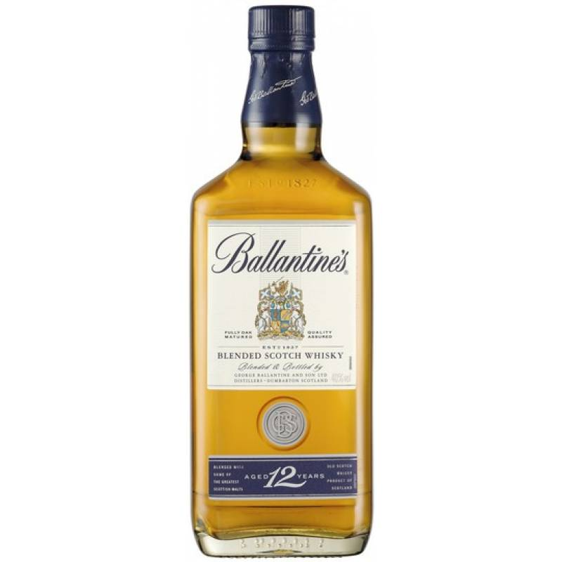 Ballantine's 12 лет ( 0,5л ) George Ballantine & Son Ltd - АРХИВ!!!