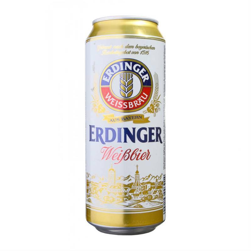 ERDINGER Weissbier  ж/б ( 0,5л ) ERDINGER
