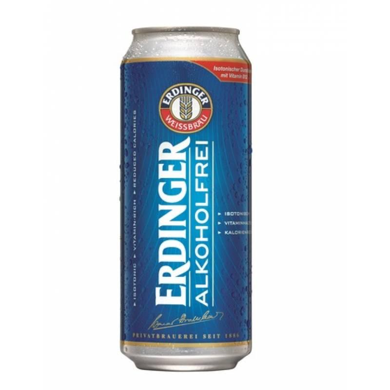 ERDINGER Alkoholfrei ж/б ( 0,5л )
