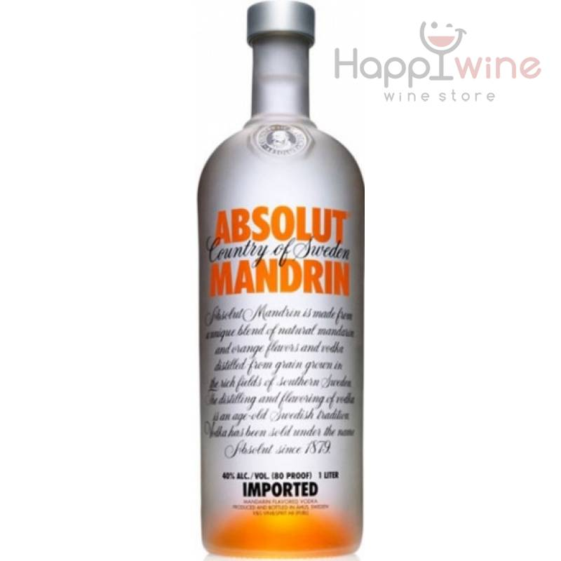 Absolut Mandrin - 0,7 л The Absolut Company AB - АРХИВ!!!