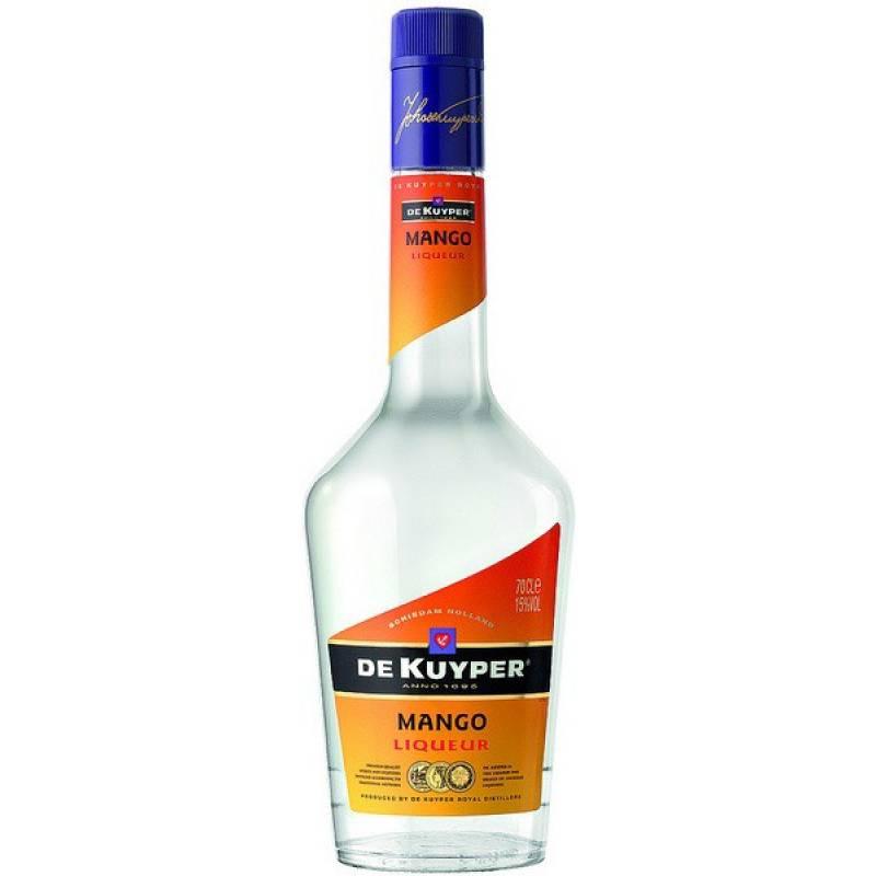 De Kuyper Mango ( Манго)  ( 0,7л ) De Kuyper Royal Distillers - АРХИВ!!!