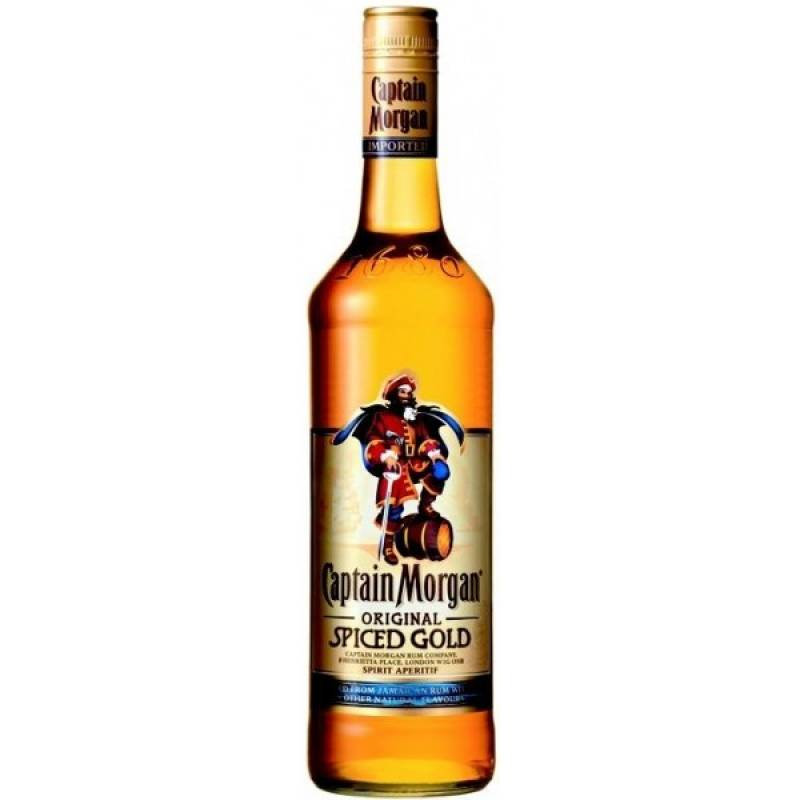 Captain Morgan Spiced Gold ( 0,5л ) Diageo (Диаджео)
