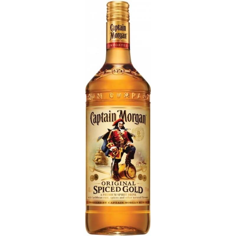 Captain Morgan Spiced Gold (1,0л ) Diageo (Диаджео)