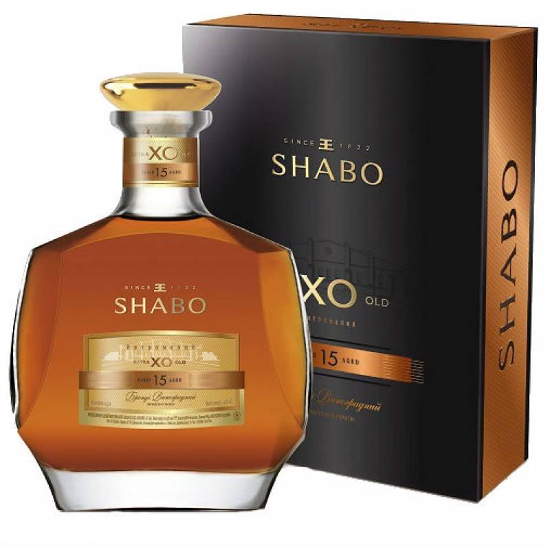 SHABO X.O 15 лет ( 0,5л ) ООО ПТК Шабо