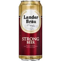 Lander brau strong - 0,5 л ж/б