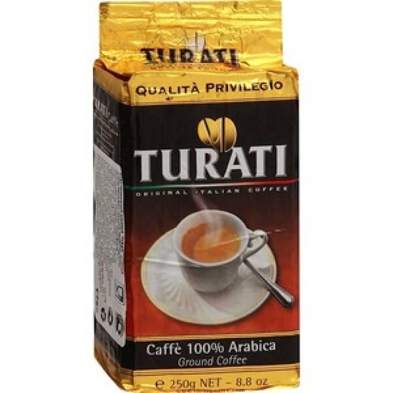 Turati Qualita Privilegio жареное молотое ( 250 гр)