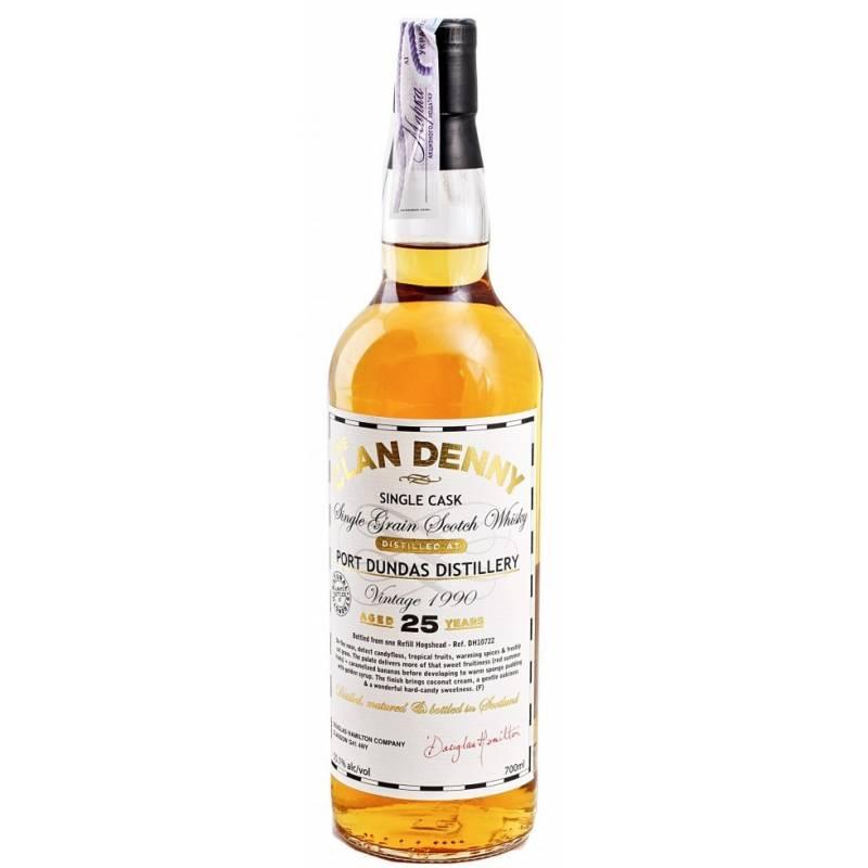 Clan Denny Grain Whisky 25л Old Port Dundas 1990 - 0,7 л Douglas Laing - АРХИВ!!!