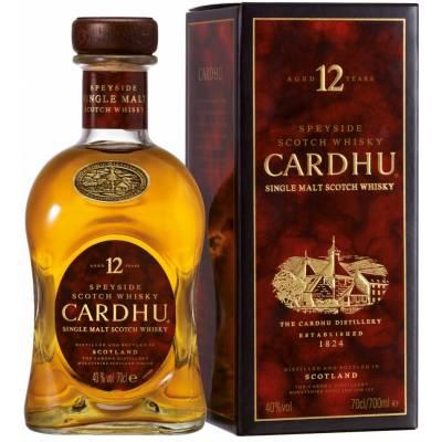 Cardhu 12 лет в коробке ( 0,7л )