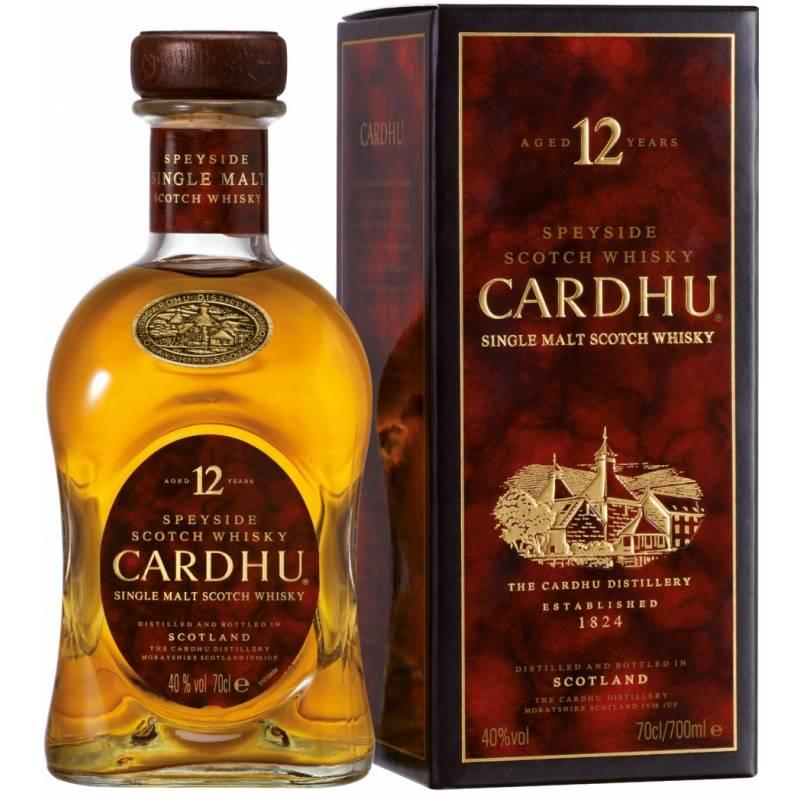 Cardhu 12 лет в коробке ( 0,7л ) Diageo (Диаджео)