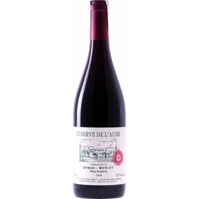 Brotte Syrah-Merlot Reserve de l'Aube Pere Anselme ( Brotte Сира-Мерло Резерв де л'Об Пер Ансельм ) 0,75 л Brotte