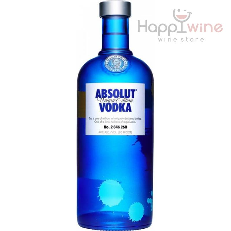 Absolut Unique Edition - 0,7 л  The Absolut Company AB - АРХИВ!!!