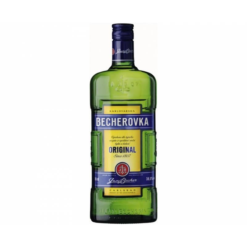 Becherovka - 0,5 л Jan Becher – Karlovarská Becherovka, АТ - АРХИВ!!!