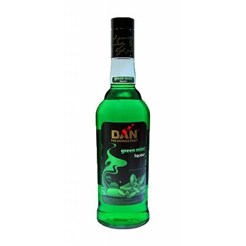 BAN Green Mint ( зеленая мята) 0,75л ООО Симферопольский ВКЗ - АРХИВ!!!