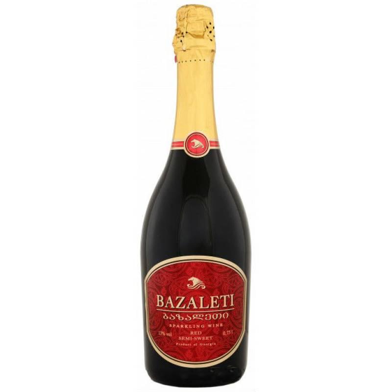 Bazaleti Semi-Sweet  Базалети чер.н/сол. ( 0,75л ) Georgia Wines & Spirits - АРХИВ!!!