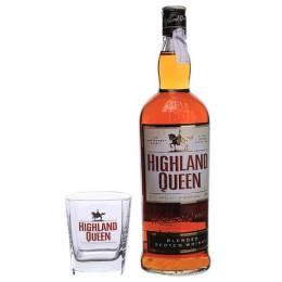 Highland Queen + бокал - 1,0 л