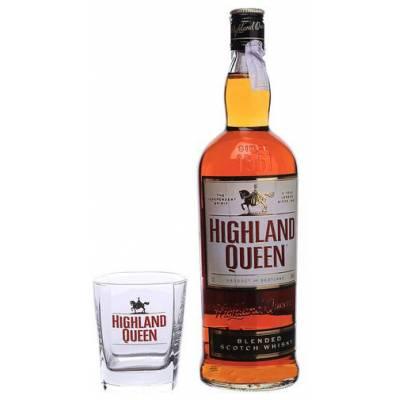 Highland Queen + бокал - 1,0 л