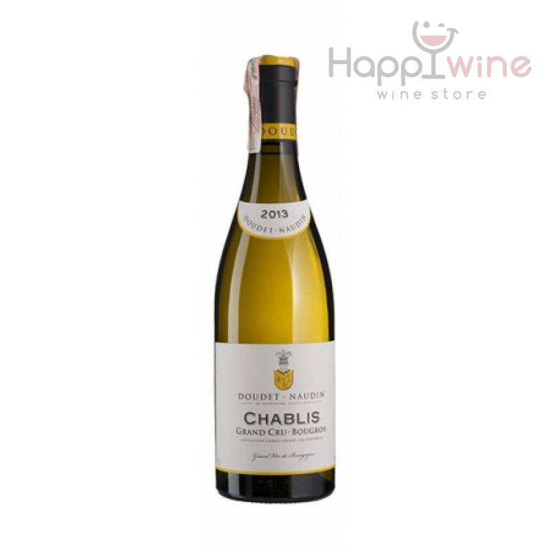 Chablis Grand Cru Bougros 2013 - 0,75 л Doudet Naudin