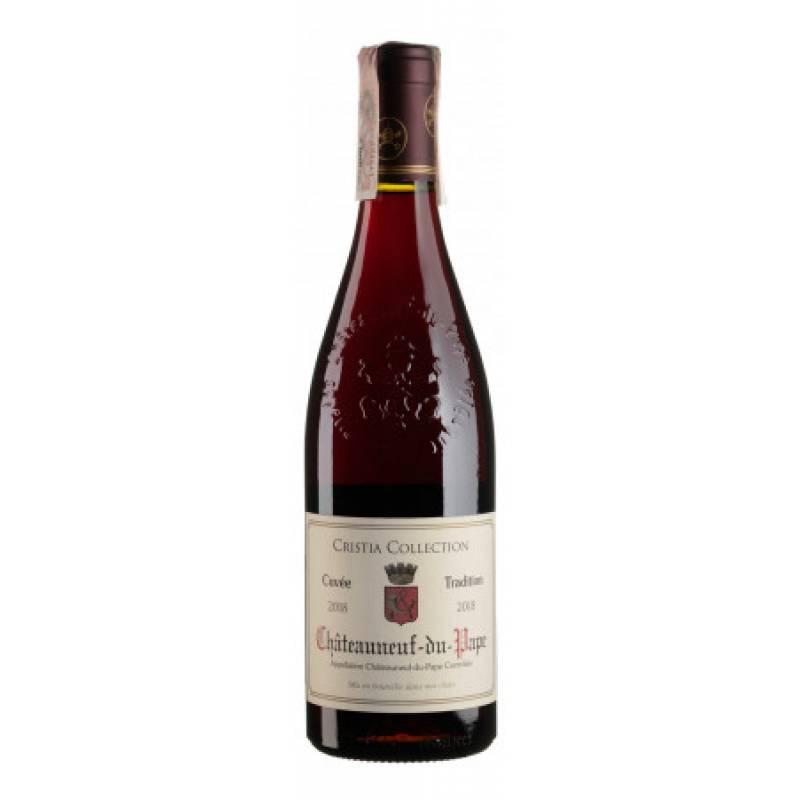 Chateauneuf-du-Pape Rouge 2018 - 0,75 л Domaine de Cristia