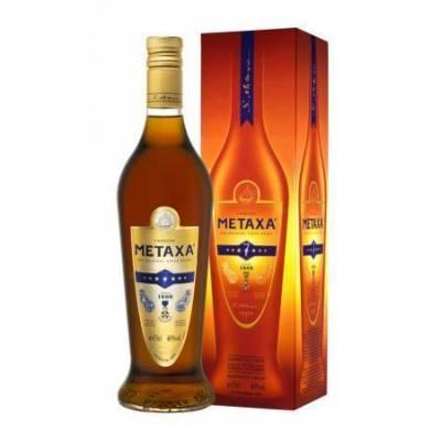 Metaxa 7 * в коробке ( 0,7л )