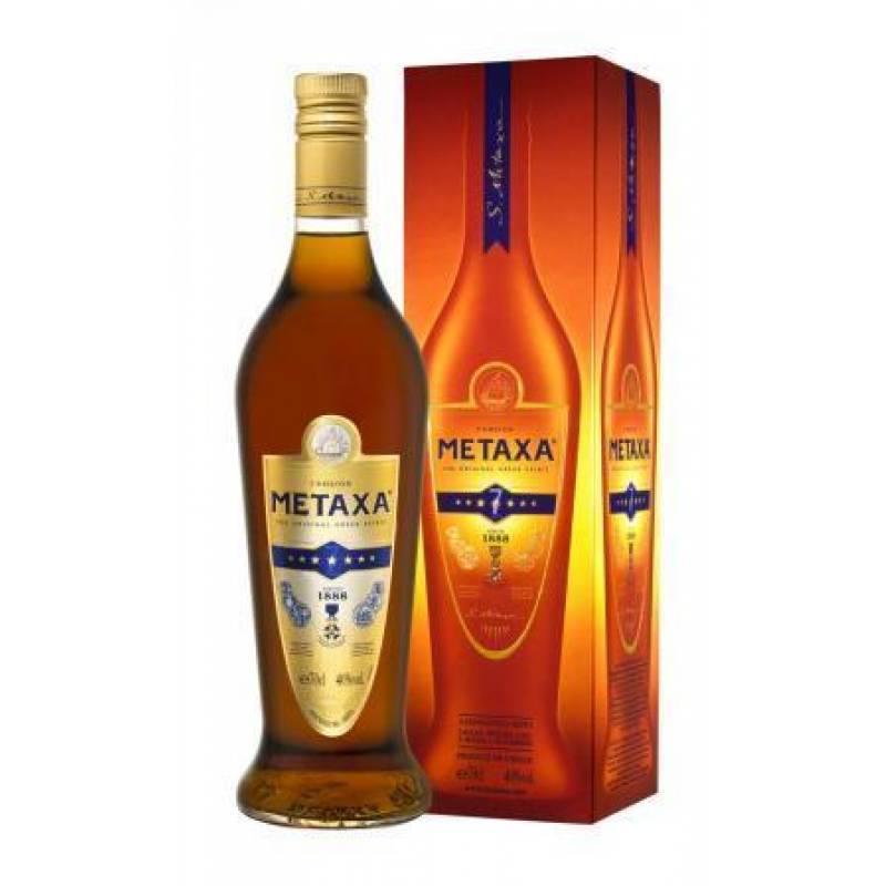Metaxa 7 * в коробке ( 0,7л ) Rémy Cointreau Group