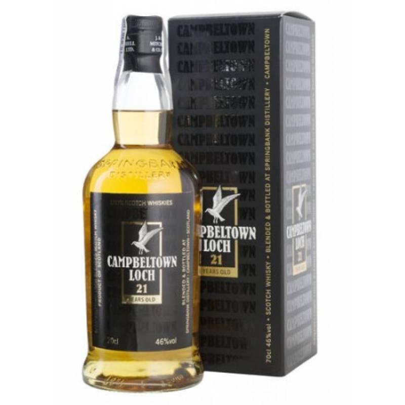 Campbeltown 21 yo, gift box - 0,7 л  Campbeltown Loch - АРХИВ!!!