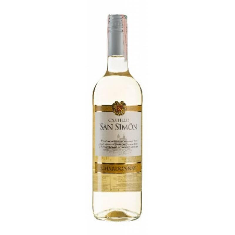 Castillo San Simon Chardonnay - 0,75 л J.Garcia Carrion