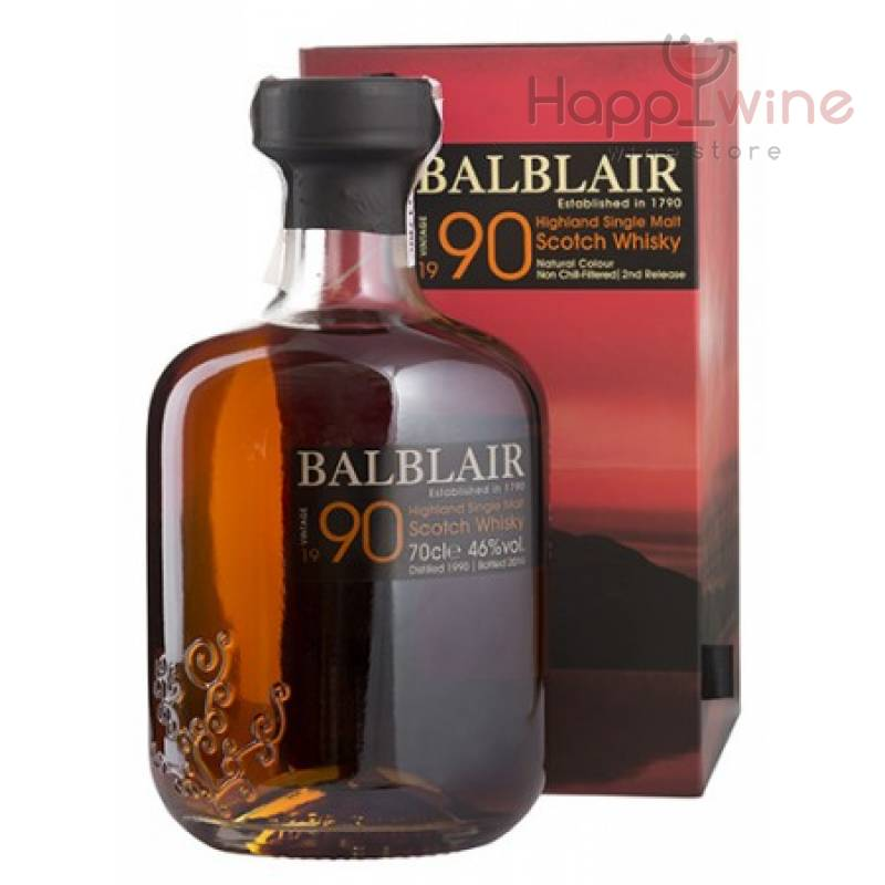 Balblair, gift box 1990 - 0,7 л Balblair - АРХИВ!!!