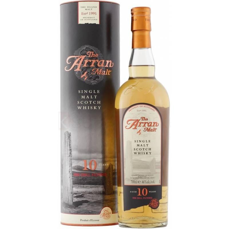 Arran 10yo, tube - 0,7 л Isle of Arran Distillery