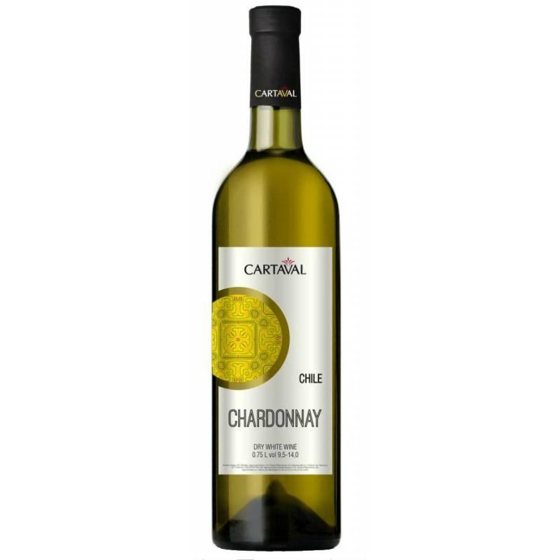 Cartaval Chardonnay - 0,75 л ЧАО Коблево - АРХИВ!!!