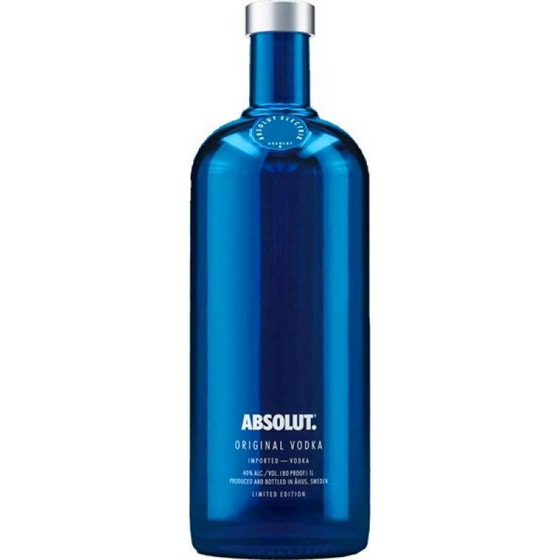 Absolut Electric -  0,7 л  The Absolut Company AB - АРХИВ!!!