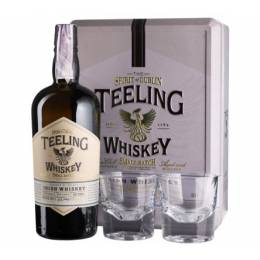 Teeling Small Batch + 2 glasses, gift box - 0,7 л
