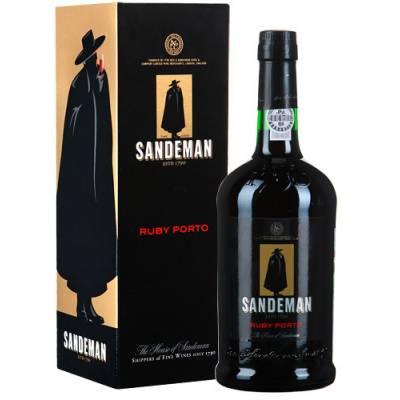 Sandeman Ruby подарочная коробка ( Сандеман Рубі под кор. ) 0,75 л