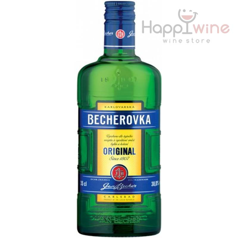 Becherovka ( 0,35л ) Jan Becher – Karlovarská Becherovka, АТ - АРХИВ!!!