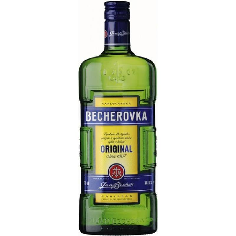 Becherovka ( 0,7л ) Jan Becher – Karlovarská Becherovka, АТ