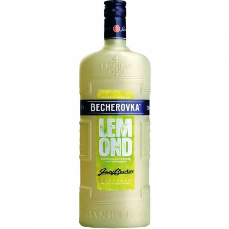Becherovka Lеmond - 0,5 л Jan Becher – Karlovarská Becherovka, АТ - АРХИВ!!!