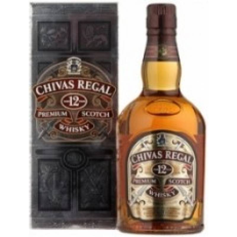 Chivas Regal 12 лет - 0,375 л  Chivas Brothers - АРХИВ!!!