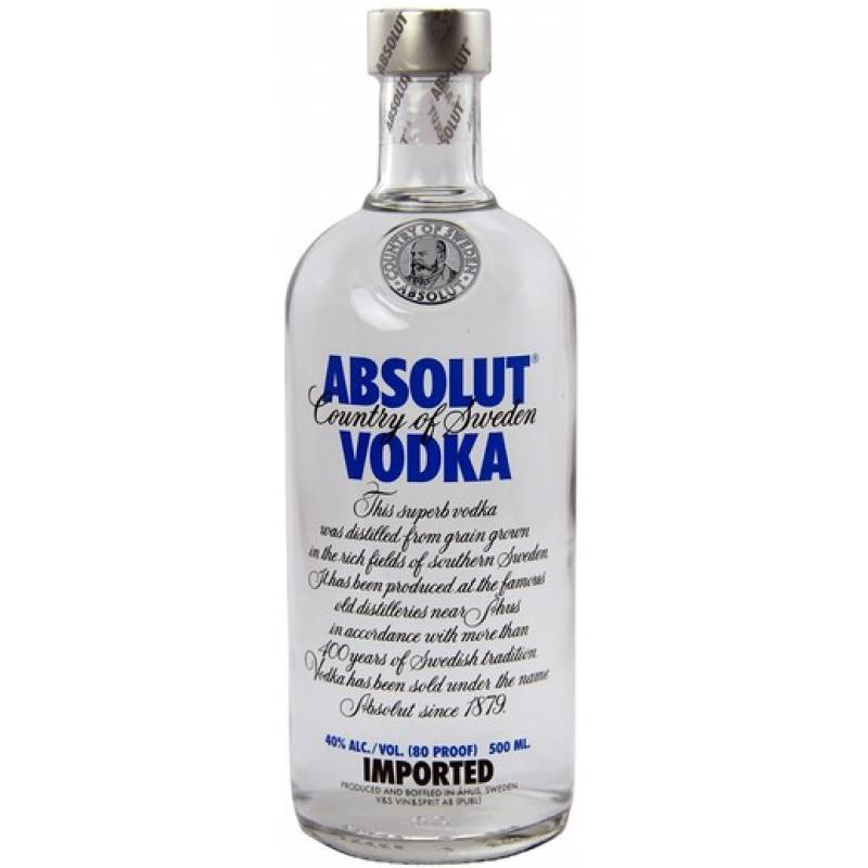 Absolut - 0,5 л  The Absolut Company AB
