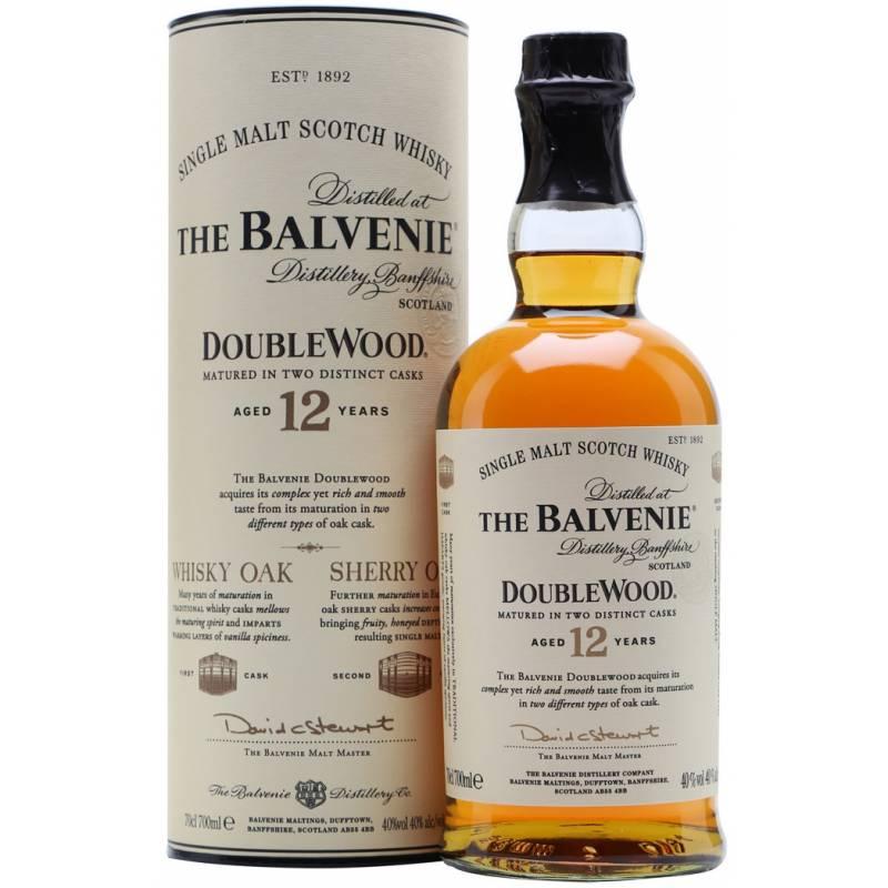 Balvenie DoubleWood, 12 лет в тубусе - 0,7 л Balvenie