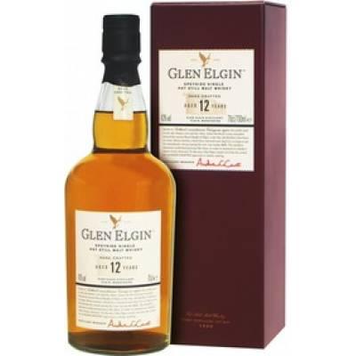 Glen Elgin Malt 12 лет в коробке ( 0,75л )