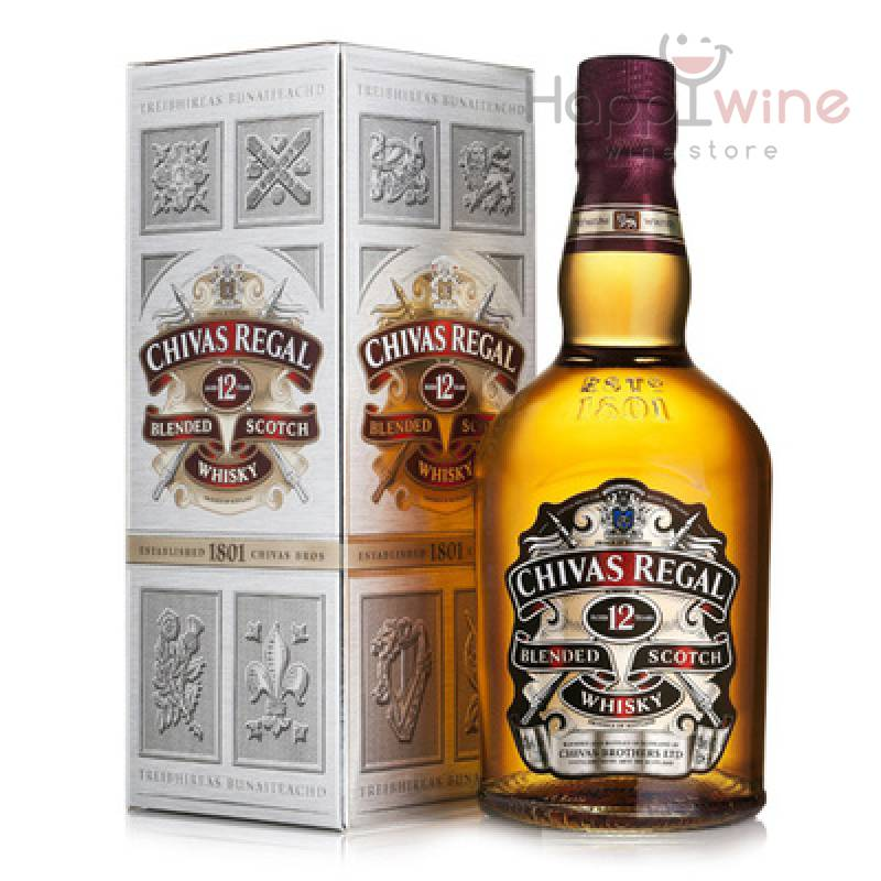 Chivas Regal 12 лет - 0,7 л Chivas Brothers - АРХИВ!!!