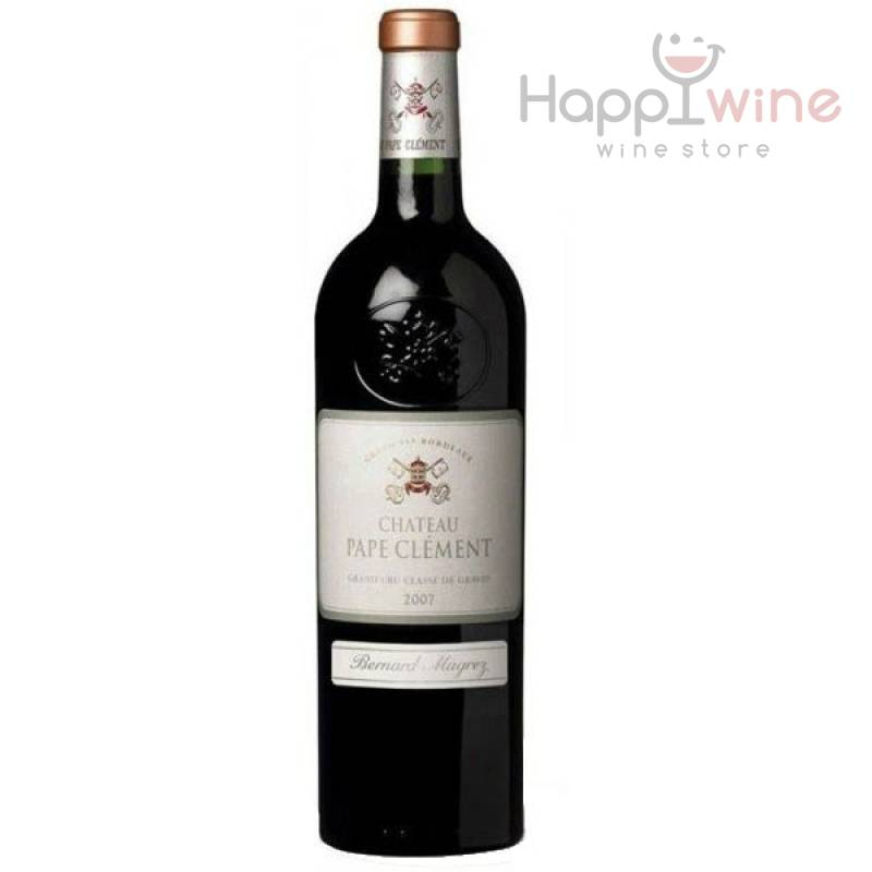 Chateau Pape-Clement, ( Шато Пап-Клеман ) 2007 0,75 л Chateau Pape-Clement - АРХИВ!!!